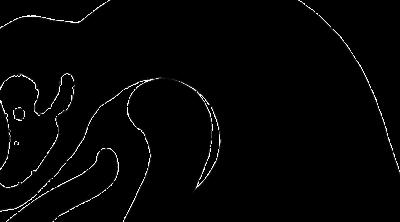 chinese zodiac monkey silhouette